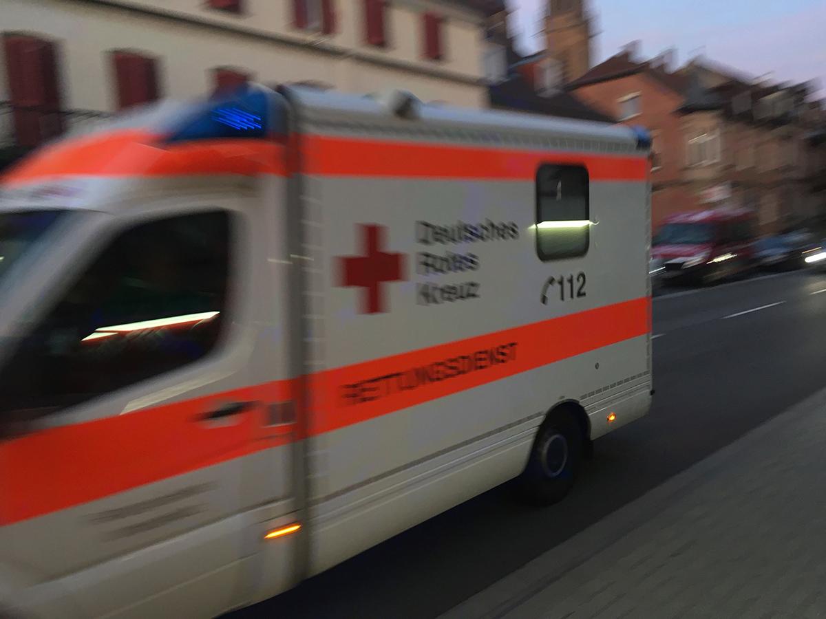 Rettungsdienst vor BÜ 05
